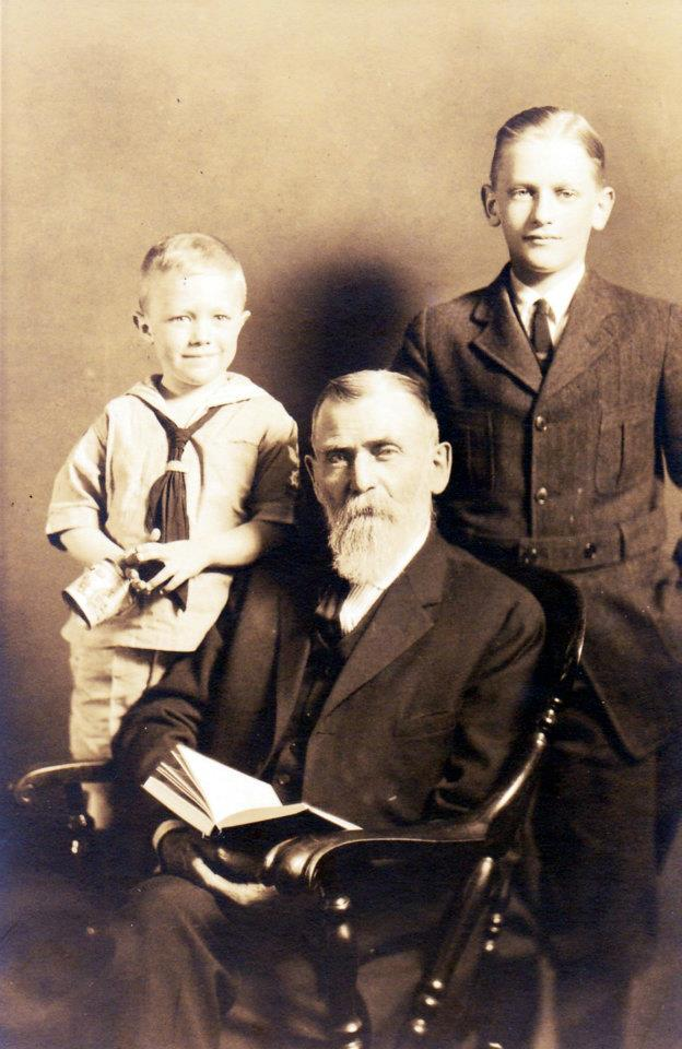 Levin James Wilson and grandsons